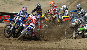 Facciotti & Klatt take the holeshot