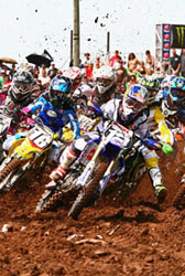 Beaton takes the Holeshot