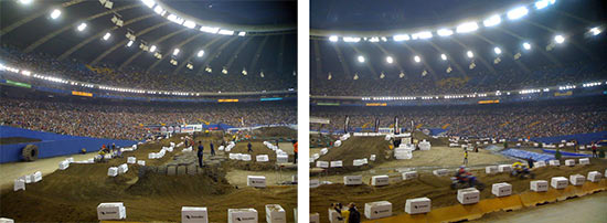 Montreal SX Track