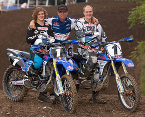 Klatt and Medaglia with Mitchell