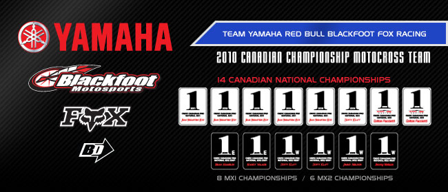 Team Toyota Yamaha Red Bull Blackfoot Fox Racing