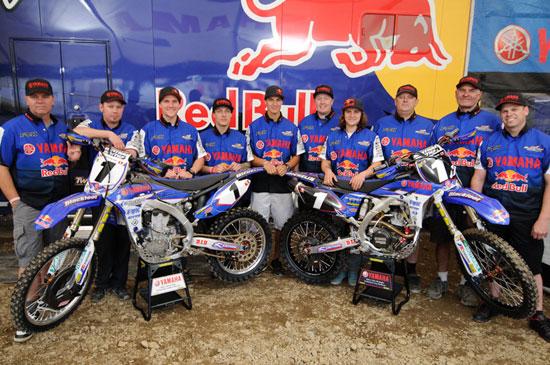 Team Yamaha Blackfoot Red bull Fox Racing