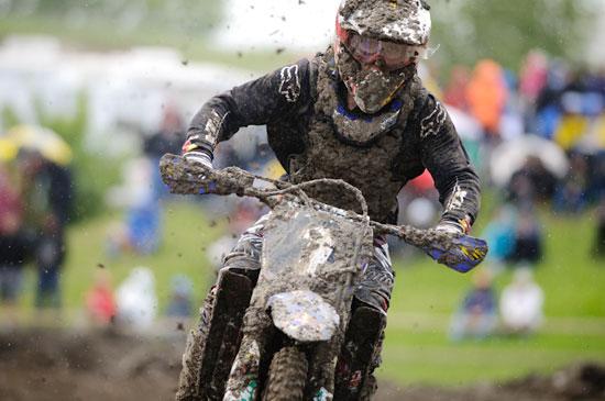 Tyler gettin' dirty