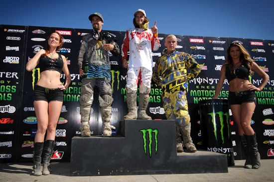Your MX2 Podium
