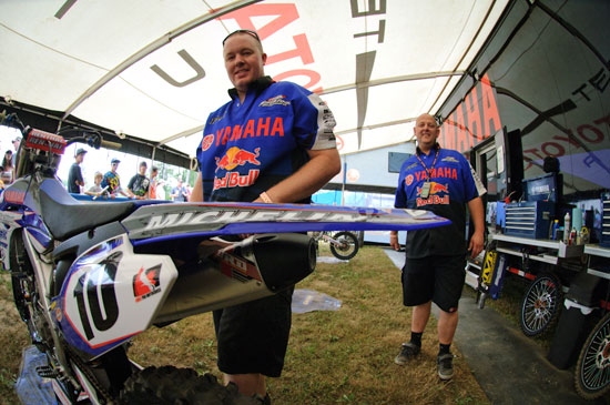Team Yamaha Redbull Blackfoot Fox Racing!